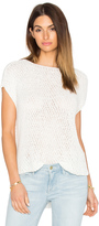 ATM Anthony Thomas Melillo Diagonal Stitch Pullover Top