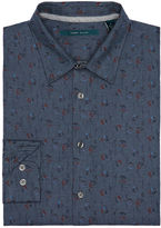 Perry Ellis Exclusive Heather Floral Print Shirt