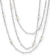 """David Yurman Continuance Pearl Small Chain Necklace, 36""""L"""