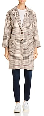The Fifth Label Mountains Plaid Two-Button Coat