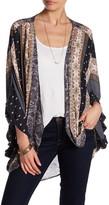 Anama Allover Print Kimono
