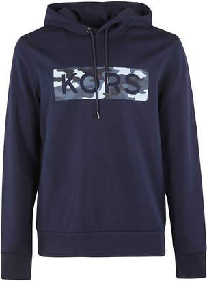 Michael Kors Logo Print Hoodie