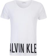Calvin Klein Intense Power Logo Tshirt - White