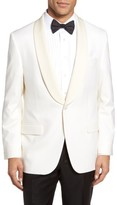 Hickey Freeman Men's Beacon Classic Fit Wool Dinner Jacket