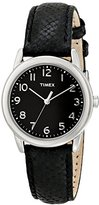 Timex Women's T2P0809J Analog Display Analog Quartz Black Watch
