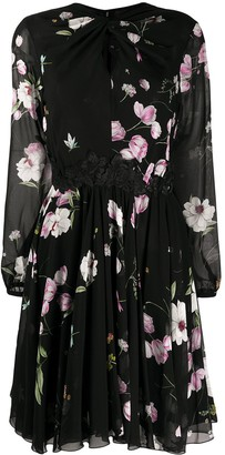 Giambattista Valli Sheer Floral Dress