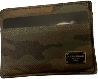 Dolce & Gabbana Green Leather Small bags, wallets & cases