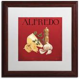 Trademark Fine Art 'Italian Cuisine III' Matted Framed Canvas Art by Marco Fabiano