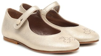 Bonpoint Ella leather ballet flats