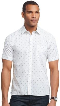 Van Heusen Men's Classic-Fit Never Tuck Button-Down Shirt