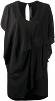 FEDERICA TOSI draped sleeveless dress