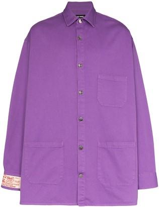 Raf Simons Big Fit denim shirt