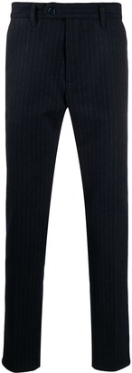 Myths Pinstripe Straight Leg Trousers