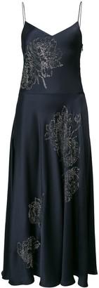 Stella McCartney crystal floral dress