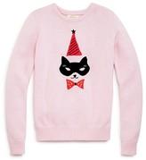 Kate Spade Girls' Cat Mask Sweater - Sizes 2-6