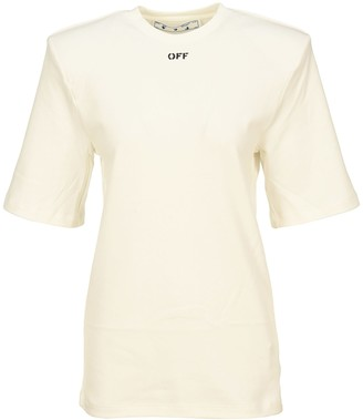 Off-White Off White Shoulder Pad T-shirt