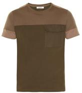 Valentino Contrast-panels Short-sleeved T-shirt