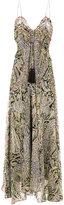 Etro sleeveless paisley print gown
