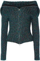 Opening Ceremony Ribbed-Knit Cardigan
