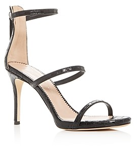Giuseppe Zanotti Women's Alien Croc-Embossed High-Heel Sandals