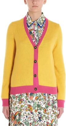 Tory Burch Contrasting Detail Cardigan