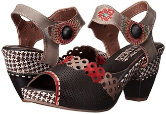 Spring Step L'artiste By L'Artiste by Jive (Black) Women's Shoes