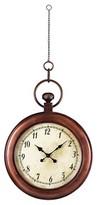 Lazy Susan 45 in. Bela Vista Bronze Hanging Clock