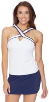 Nautica Soho Solids High Neck Tankini Top
