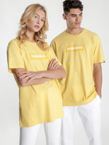 Napapijri Sox Short Sleeve T-Shirt in Yellow