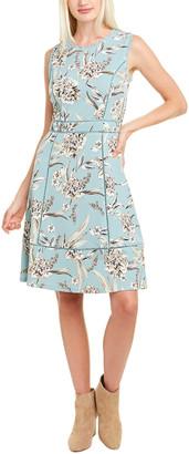 Karl Lagerfeld Paris Crepe A-Line Dress