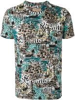 Burberry British seaside print T-shirt - men - Cotton - S