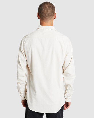 Insight Bushwick Long Sleeve Cord Shirt Cream