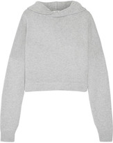 Tibi Cashmere Hooded Top - Gray