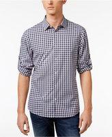 Michael Kors Men's Shane Slim-Fit Check Cotton Shirt