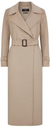 Max Mara Wool Aris Belted Coat