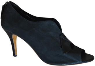 Gaspard Yurkievich Black Cloth Heels
