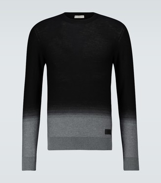 Givenchy Gradient jacquard wool sweater