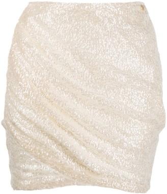 Liu Jo Sequinned Wrap-Around Skirt