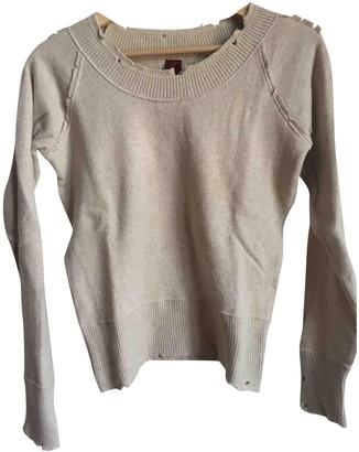 Dondup Beige Wool Knitwear for Women