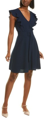 Black Halo Hailey Mini Dress