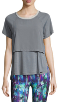 Koral Activewear Clarion Double Layer Tee