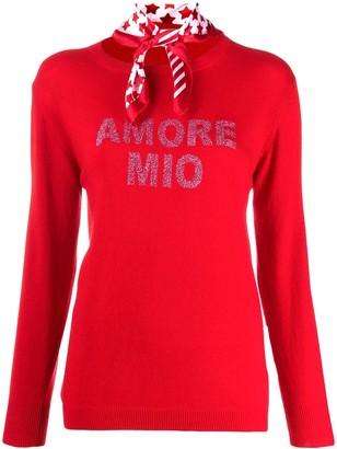 5 PROGRESS Amore mio fine knit jumper