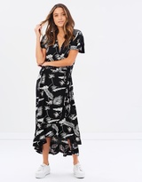 Volcom Diamond Tropic Wrap Dress