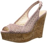 Nine West Women's Axey Suede Wedge Sandal