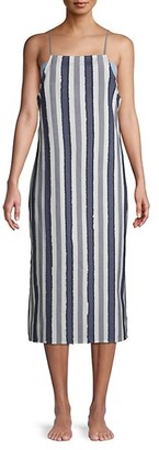 Onia Striped Cotton Dress