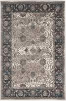 Linon Rectangular Area Rug in Gray and Charcoal (10 ft. L x 2 ft. W)