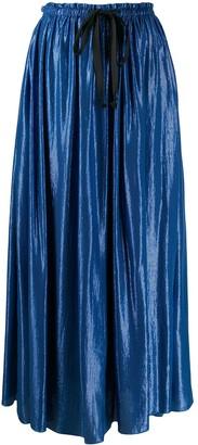 Forte Forte elasticated waistband maxi skirt