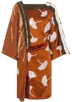 3.1 Phillip Lim Embellished Satin And Velvet Dress