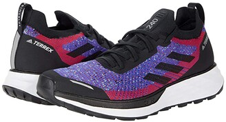 adidas Outdoor Terrex Two Parley (Scarlet/Black/Hazy Sky) Women's Running Shoes