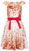 Blugirl flared floral print dress